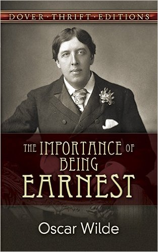 The importance of being earnest essays